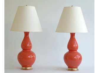 AURORA DOUBLE GOURD LAMPS
