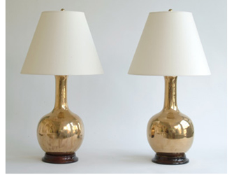 LARGE SINGLE GOURD LAMPS