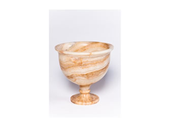 Large Onyx Pedestal Bowl